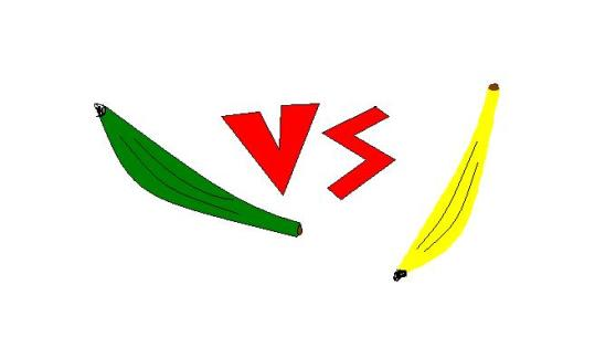 N-PLantain vs Banana=- MS