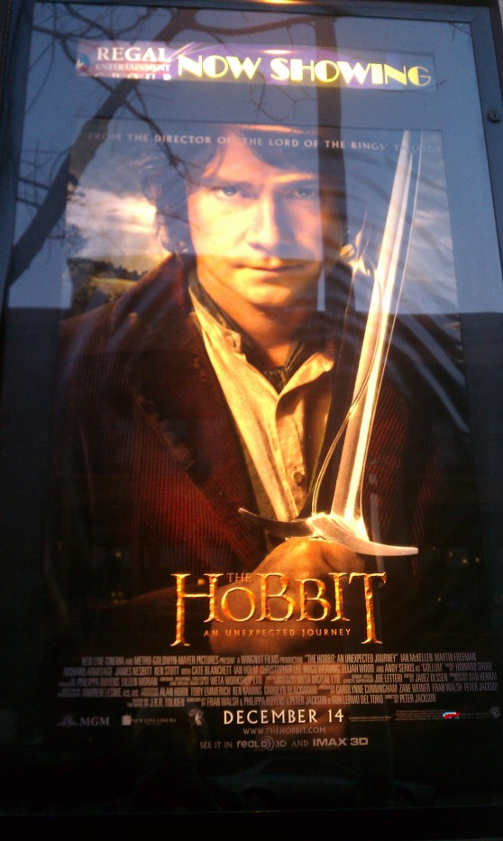 The Hobbit: An Unexpected Journey is the first installment of what will be a trilogy, photo courtesy of Jorden Dungan.