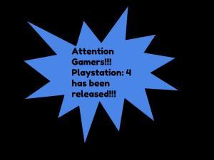 New Playstation 4- Courteney Kauffmann