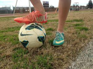 Girls soccer 2-4